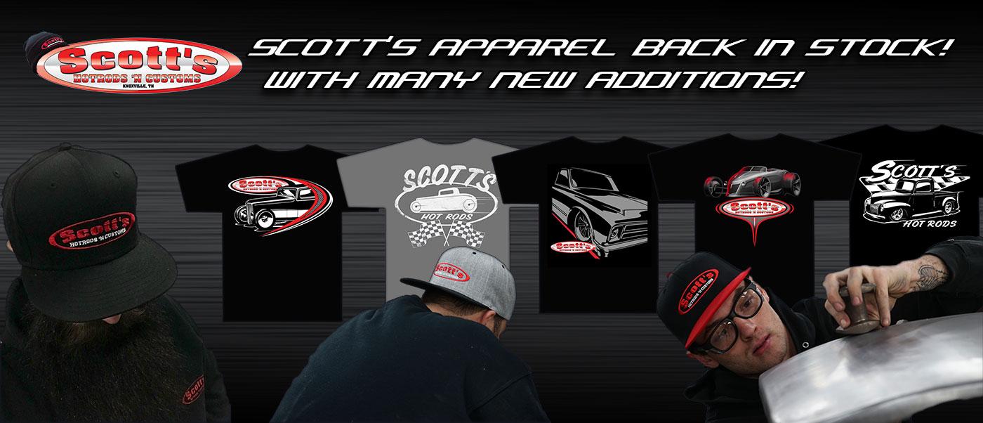 Scott's Hotrods Apparel