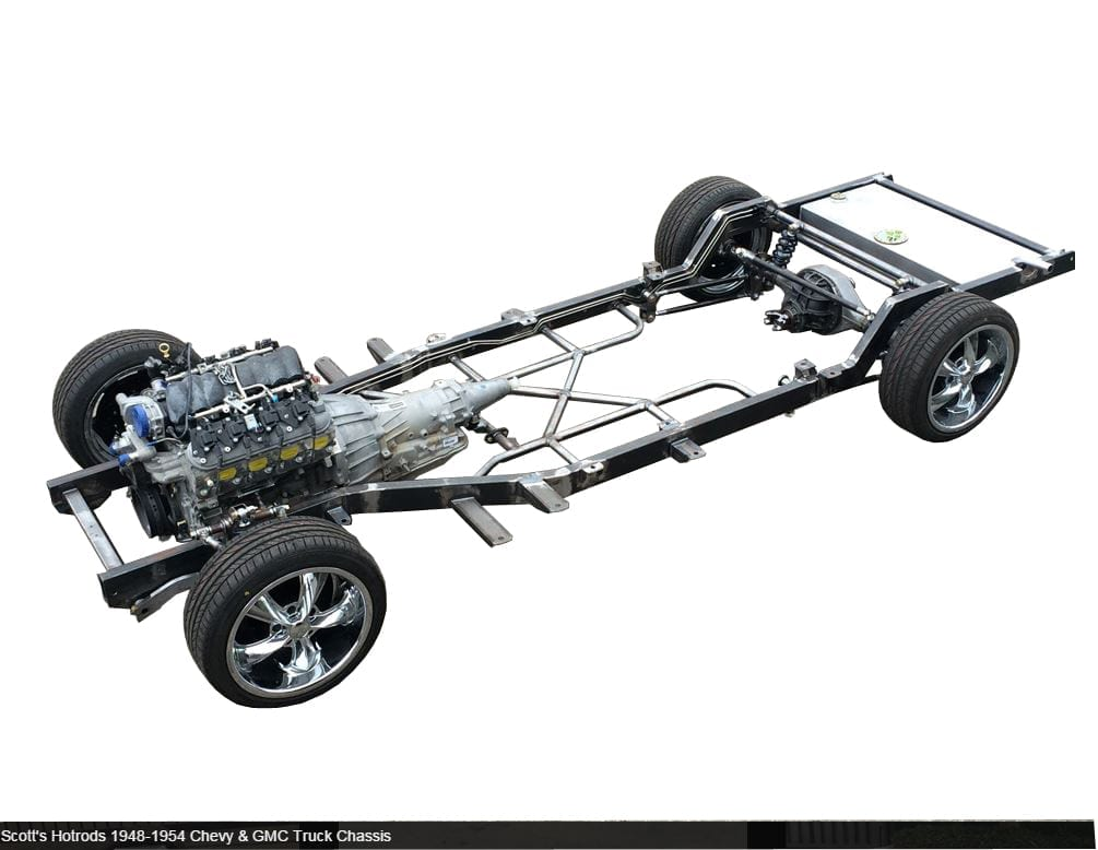 1948-1954 Chevy Car Chassis - Starting @ $12,995.00