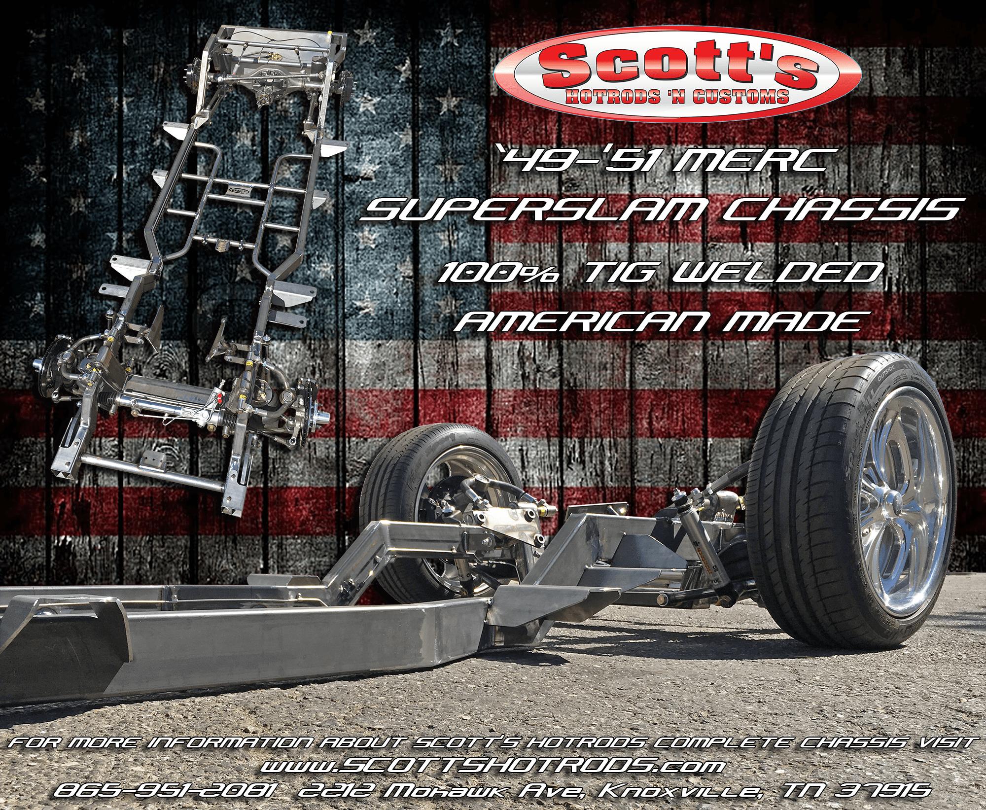 Scotts-1949-1951-Mercury-Chassis-American-made