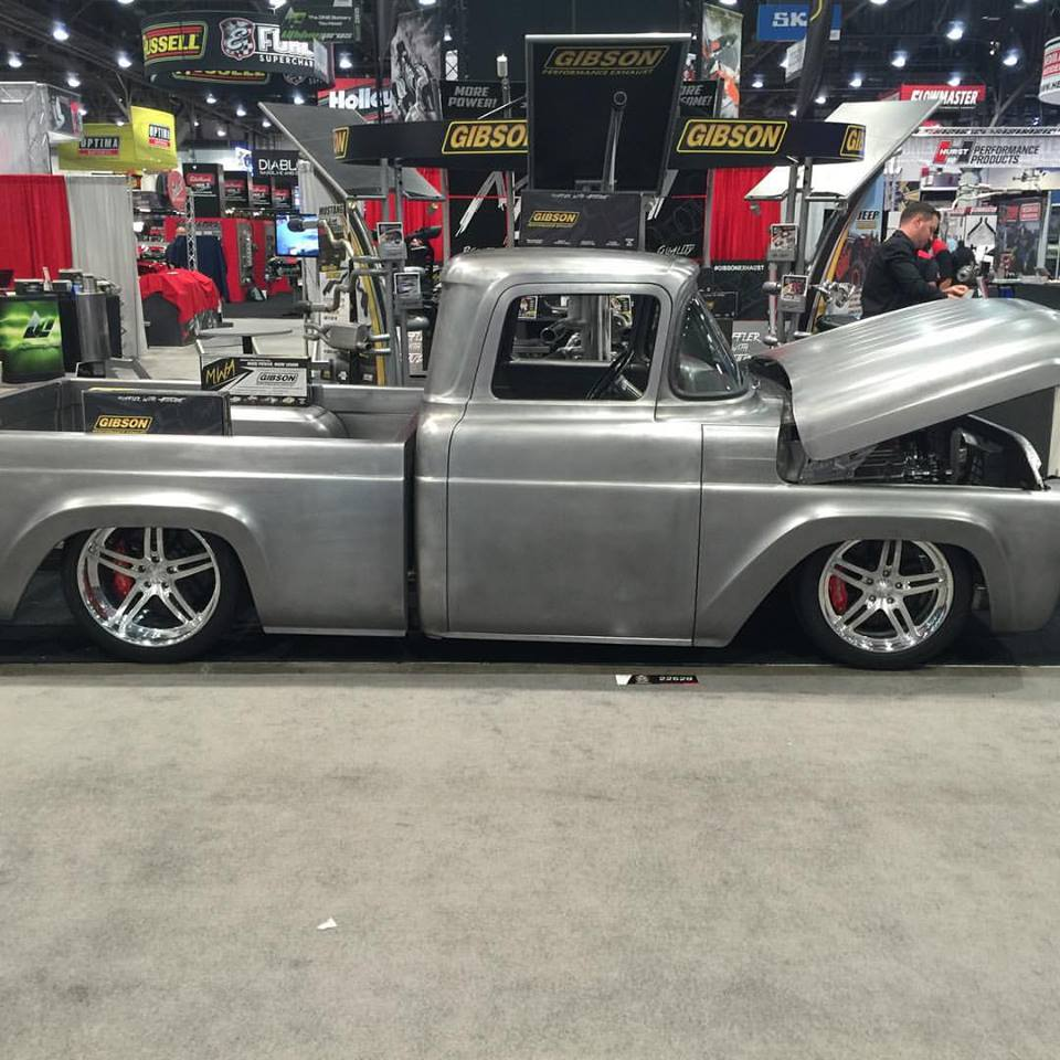 Photo Gallery 1958 Ford F100 Truck Scottshotrods 1955 Hot Rod 4 Web