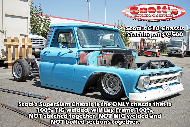 Scottshotrods | Scott's Hotrods - 1963-1987 Chevy / GMC C10 Chassis