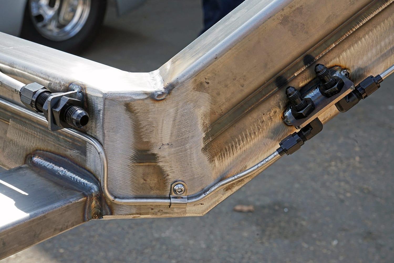 67-68 Mustang Fuel Brake Lines