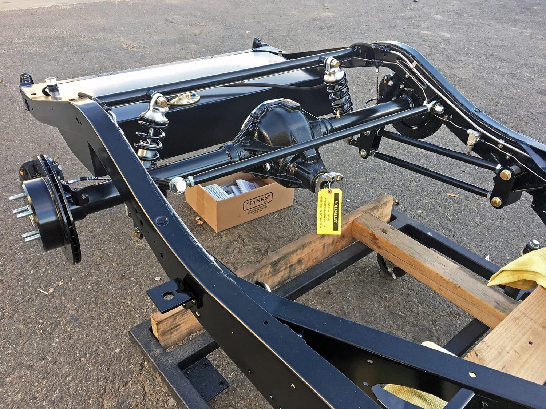 Scottshotrods | Scott's Hotrods - 4 Link Suspension