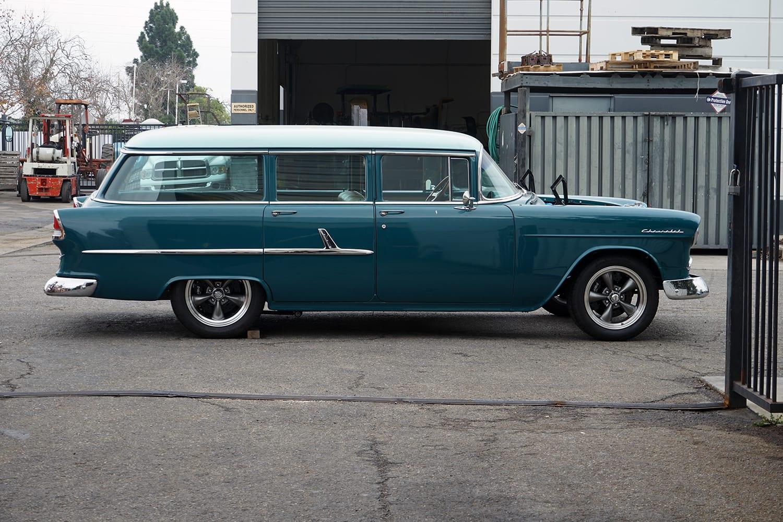 Scott's Tri 5 Chassis side