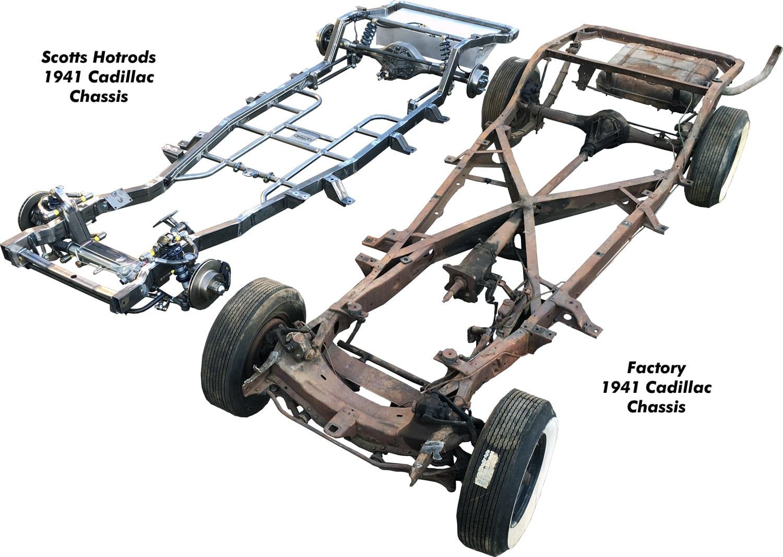 Scott\'s Hotrods Std. & Custom Chassis – Scottshotrods