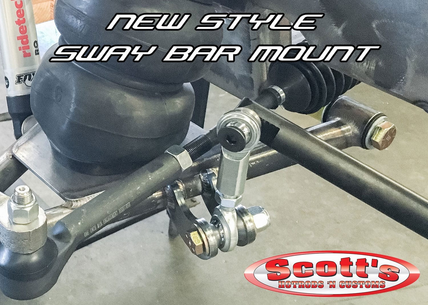 New Style Sway Bar Mount 2015+