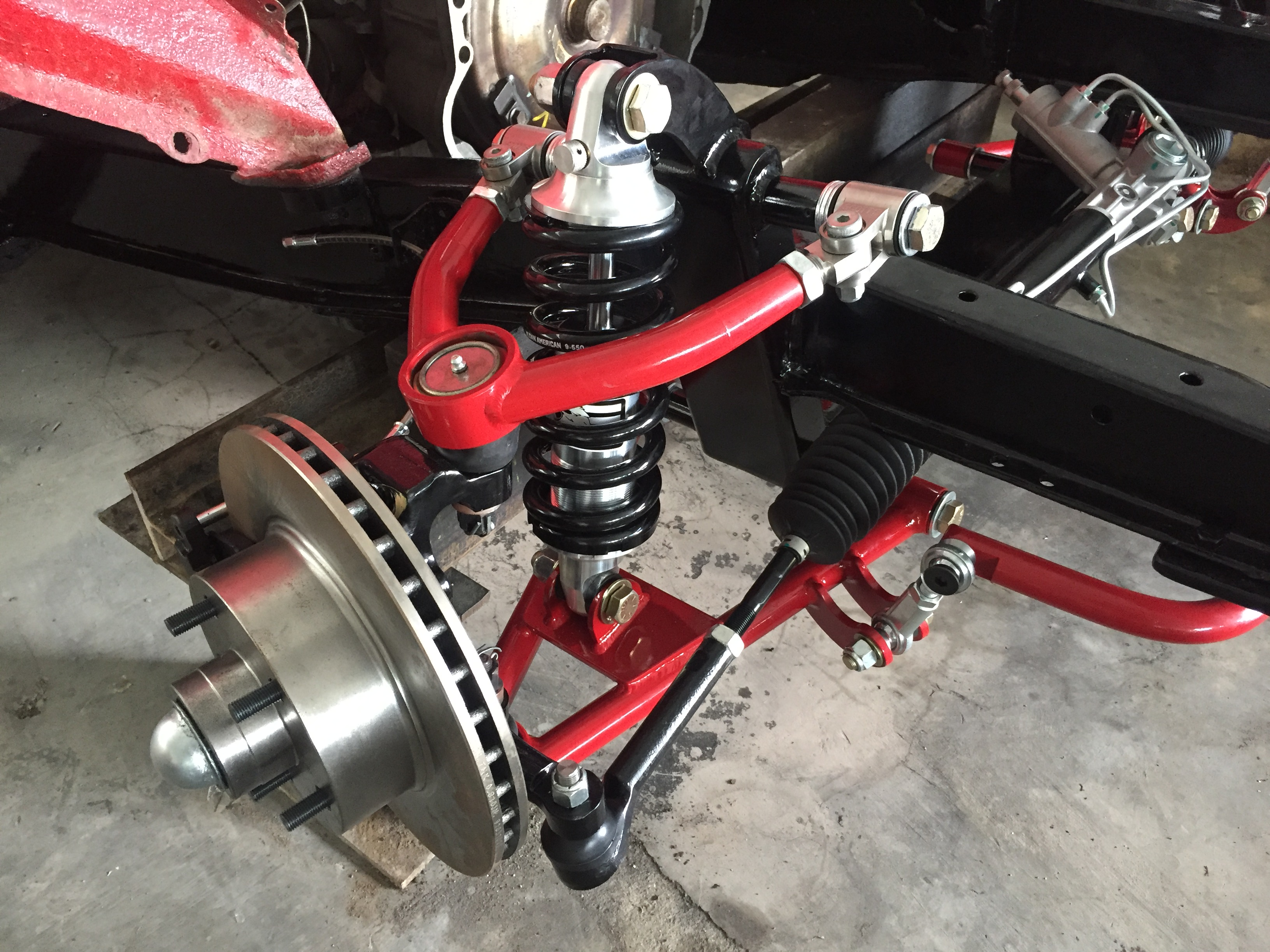 Scotts Hotrods 48-54 Chevy Car Coilover IFS 1
