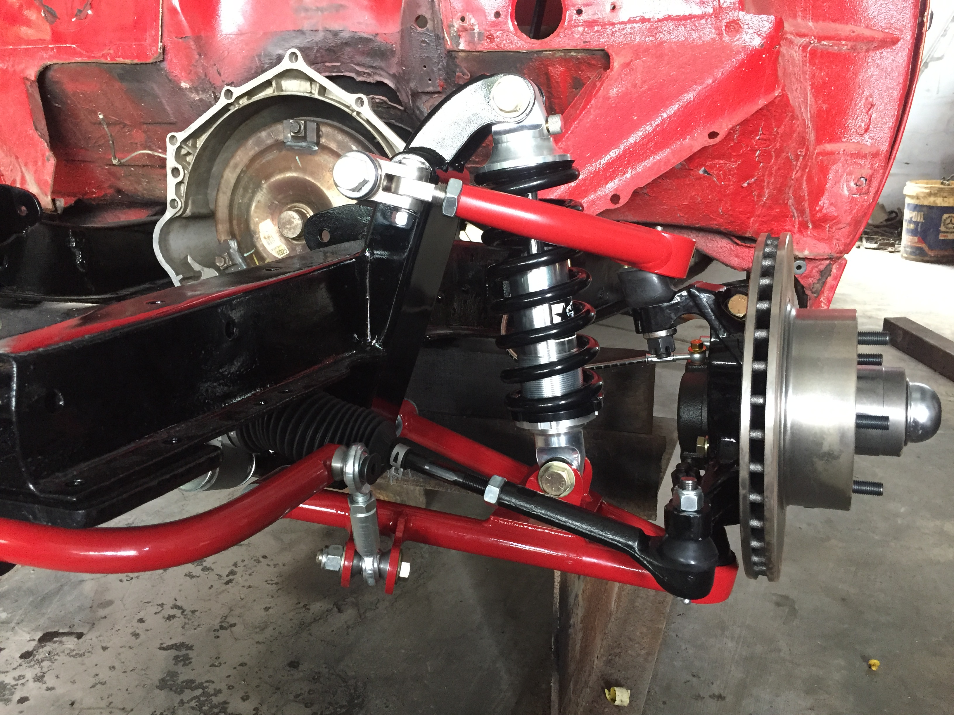 Scotts Hotrods 48-54 Chevy Car Coilover IFS 2