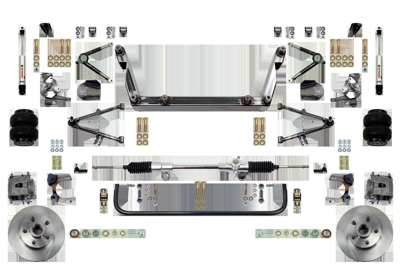 Scott's SuperSlam Airbag Independent Front Suspension Kit