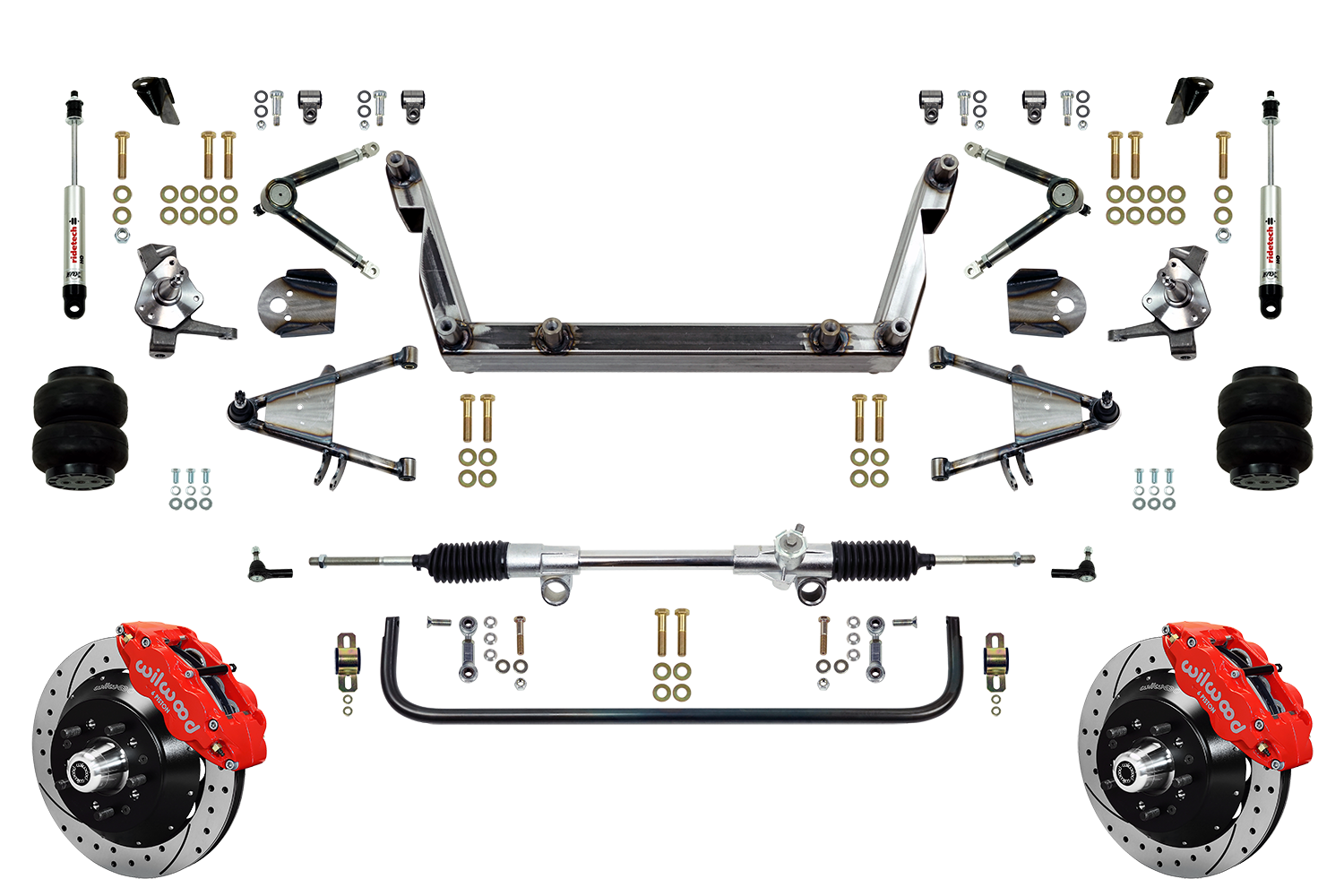 "Scott's SuperSlam Airbag Independent Front Suspension Kit 13"" Wilwood"