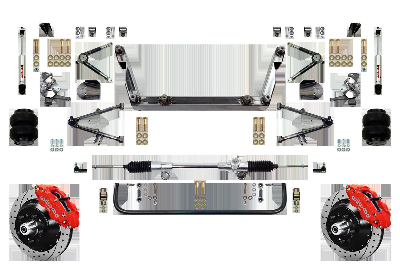"Scott's SuperSlam Airbag Independent Front Suspension Kit 13"" Wilwood"