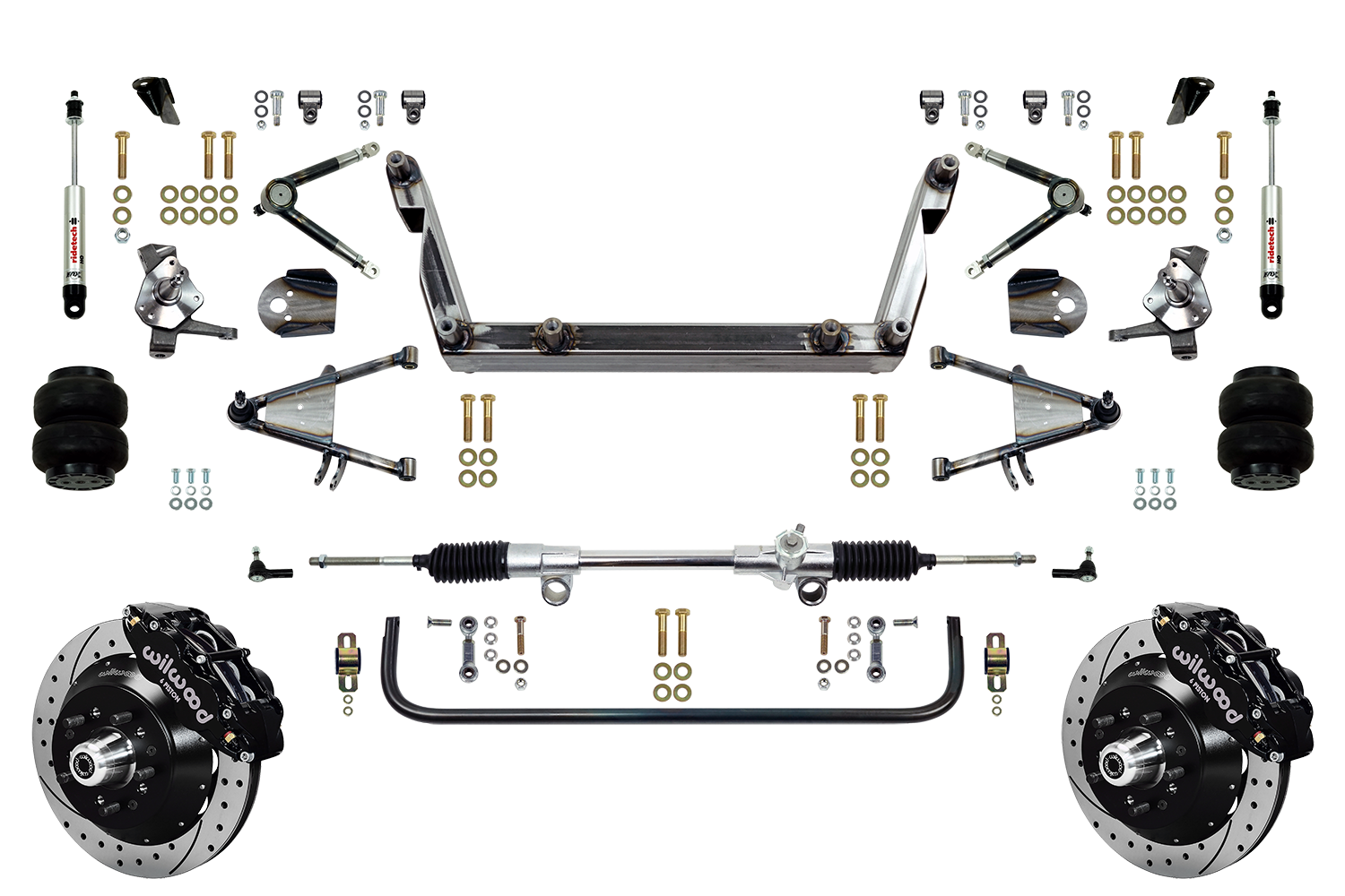 "Scott's SuperSlam Airbag Independent Front Suspension Kit 14"" Wilwood"