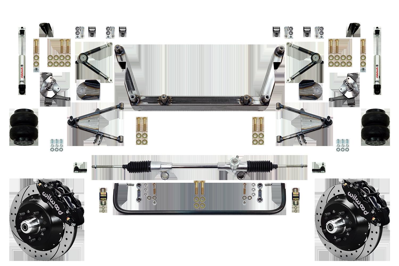 "Scott's SuperSlam Airbag Independent Front Suspension Kit 14"" Wilwood"