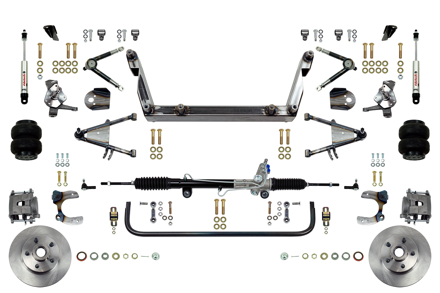 Scott's SuperSlam Airbag Independent Front Suspension Kit Power
