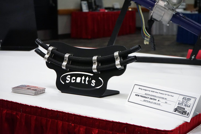 SCOTT'S BILLET LINE CLAMPS 1