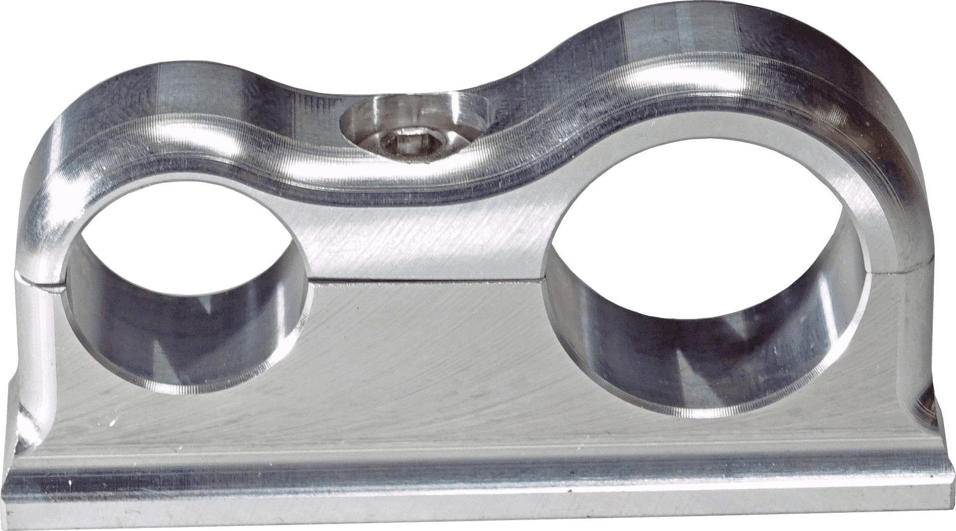 SCOTTS BILLET LINE CLAMP -6AN -8AN FIXED