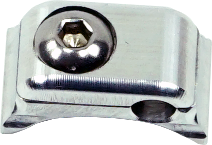 SCOTTS-BILLET-LINE-CLAMP-SINGLE-316-FIXED-coped