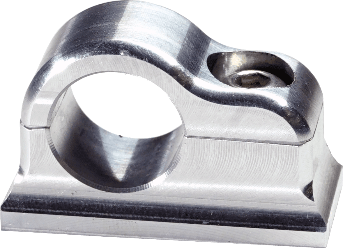 SCOTTS BILLET LINE CLAMP SINGLE -6AN