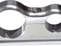 SCOTTS BILLET LINE CLAMP -6AN -10AN FIXED