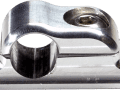 SCOTTS BILLET LINE CLAMP SINGLE -3AN FIXED