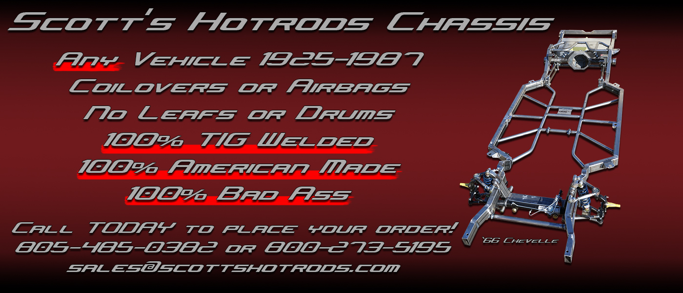 Scottshotrods – American Made IFS, Chassis, & Components For Any ...