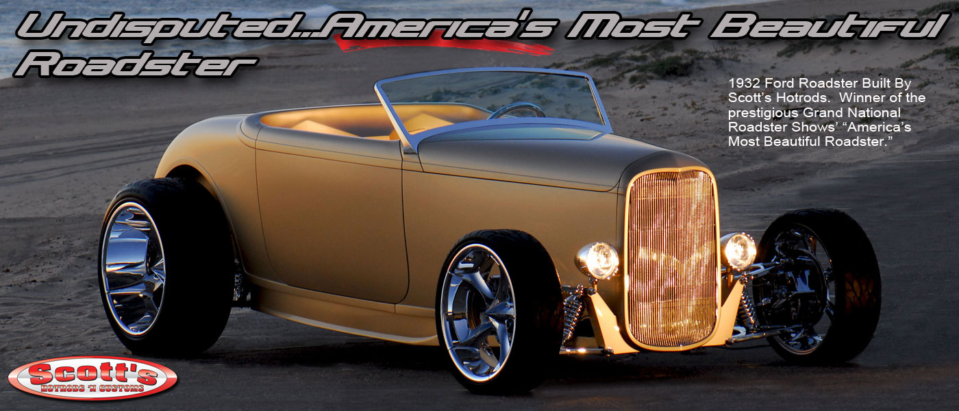 Scottshotrods – American Made IFS, Chassis & Components For Any Make ...