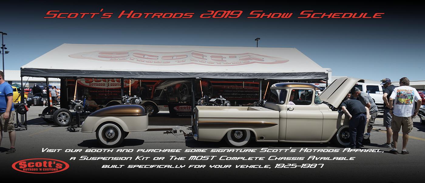 SCOTTS CAR SHOW SCHEDULE 2019